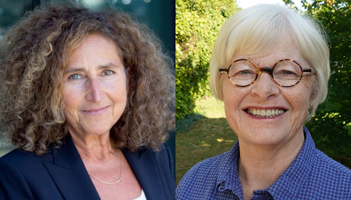 Eva Egron-Polak (left) and Mary Law will be receiving honorary degrees at Thursday's convocation ceremonies.
